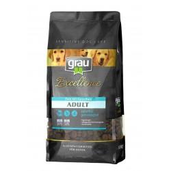 Grau Excellence ADULT su antiena 5kg sausas pašaras
